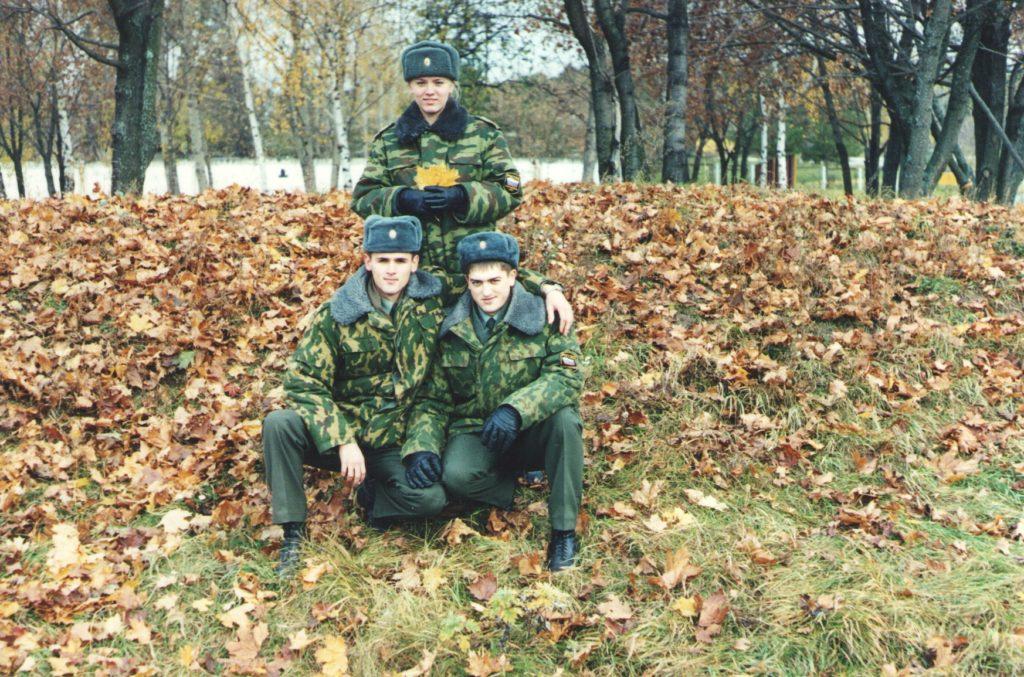 18 октября 2000 года. После зачёта по огневой подготовке.