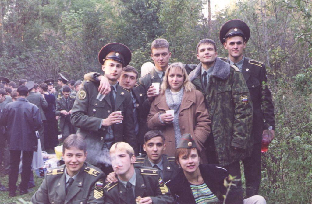 """23 сентября 2000 """"Зачатие"""" лейтенантов."""