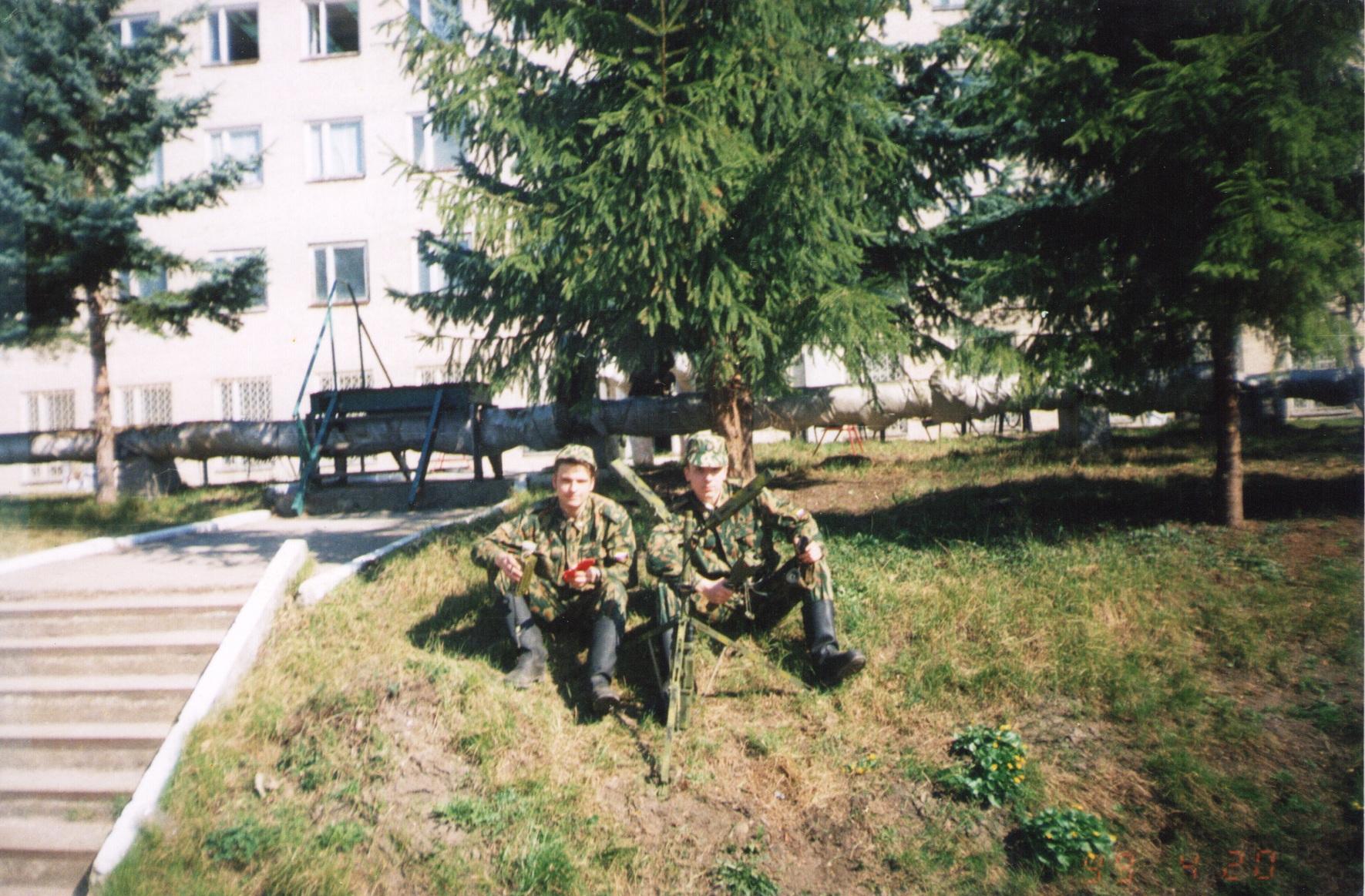 Лето 1999 года разворачиваем ВИТИМ